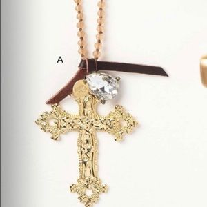 Amary cross necklace